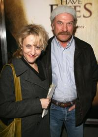 Bitty Schram and Ted Levine at the premiere of