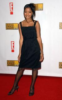 Keke Palmer at the 12th Annual Critics' Choice Awards.