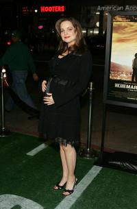 Kimberly Williams-Paisley at the premiere of