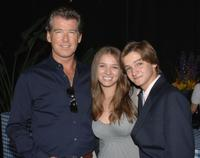 Pierce Brosnan, Ashley Gomez and Hunter Gomez at the First Star's Annual Celebration of Children's Rights.