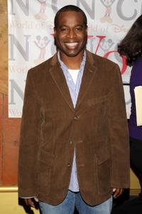 Phill Lewis at the World of Disney store.