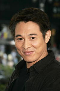 Jet Li on MTV's Total Request Live in N.Y.