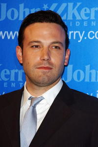 Ben Affleck at the Kerry Victory 2004 Concert in L.A.