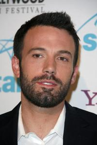 Ben Affleck at the 11th annual Hollywood awards gala ceremony.