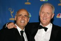John Lithgow and Jeffrey Tambor at the 58th Annual Primetime Emmy Awards.