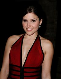 Sophia Bush at the BCBG fashion show after party during the Mercedes-Benz Fashion Week Fall 2008.