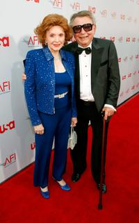 Patricia Barry and Guest at the 36th AFI Life Achievement Award.