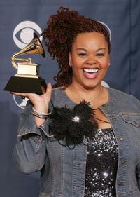Jill Scott at the 47th Annual Grammy Awards.