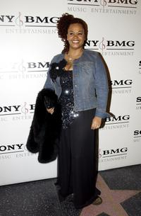 Jill Scott at the Sony BMG Music Entertainment Grammy Party.