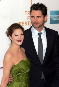 Drew Barrymore and Eric Bana at the premiere of
