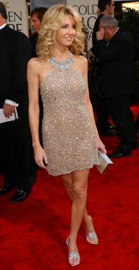 Heather Locklear at the 59th Annual Golden Globe Awards.