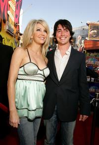 Heather Locklear and Ben Feldman at the Premiere of