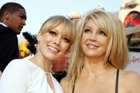 Heather Locklear and Hilary Duff at the Premiere of