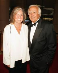 Robert Loggia and his wife Audrey at the Huston Gala 2005.