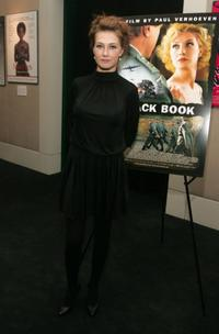 Carice van Houten at the Film Society of Lincoln Center hosts an evening with Paul Verhoeven.