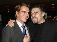 Tony Dalton and Joaquin Cosio at the after party of the West Coast premiere of