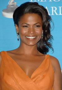 Nia Long at the 38th annual NAACP Image Awards.