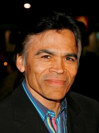 Sal Lopez at the premiere of