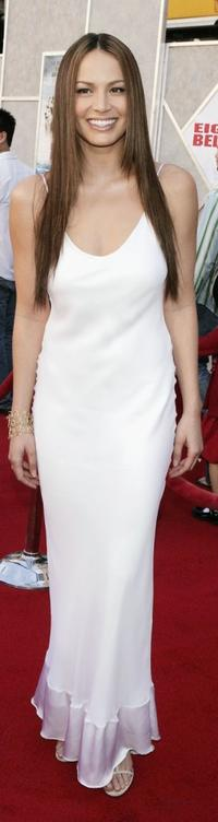 Moon Bloodgood at the premiere of