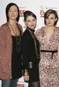 Alex Reid, MyAnna Buring and Nora-Jane Noone at the Sony Ericsson Empire Film Awards 2006.