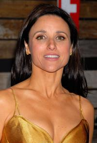 Julia Louis-Dreyfus at the EMA & E! Golden Green After Party.