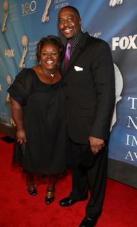 Cassi Davis and Guest at the 40th NAACP Image Awards.