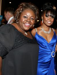 Cassi Davis and Keshia Knight Pulliam at the 40th NAACP Image Awards.