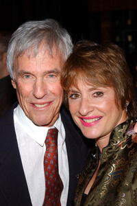 Patti Lupone and Burt Bacharach at the opening of