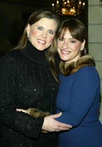 Patti Lupone and Ann Reinking at the UJA Federation.