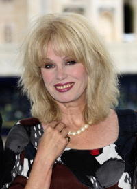 Joanna Lumley at the launch of a three month