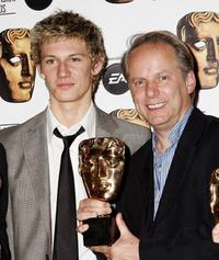 Alex Pettyfer and Nick Park at the 11th British Academy Children's Film & Television Awards.