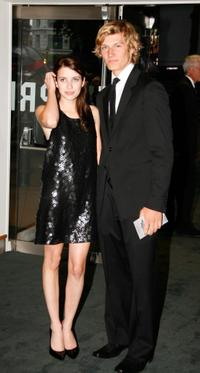 Emma Roberts and Alex Pettyfer at the UK premiere of