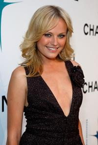 Malin Akerman at the opening of Chanel boutique.