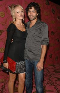 Malin Akerman and Adrian Grenier at the HBO Post Emmy Party.