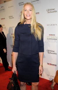 Kelly Lynch at The Hollywood Reporter's Women in Entertainment breakfast honoring Jodie Foster.