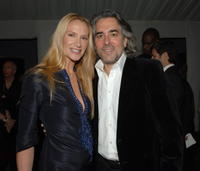 Kelly Lynch and Mitch Glazer at the Fendi celebration of the redesign of its Rodeo Drive flagship store.