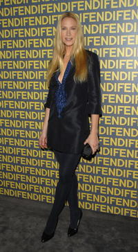 Kelly Lynch at the Fendi celebration of the redesign of its Rodeo Drive flagship store.