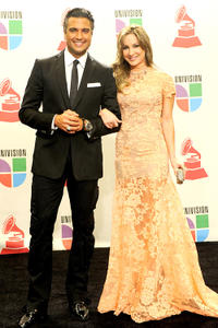 Jaime Camil and Claudia Leitte at the 11th Annual Latin GRAMMY Awards.