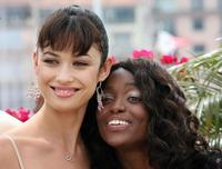 Olga Kurylenko and Aissa Maiga at the 59th edition of the International Cannes Film Festival.