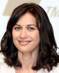 Olga Kurylenko at the press conference of