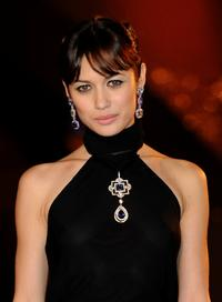 Olga Kurylenko at the premiere of