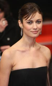 Olga Kurylenko at the Berlin premiere of