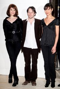 Gemma Arterton, Mathieu Amalric and Olga Kurylenko at the photocall of