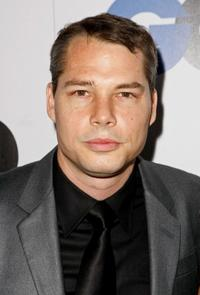 Shepard Fairey at the GQ Men of the Year party.
