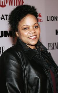 Tonye Patano at the Lionsgate and Showtime party honoring Golden Globe nominees for