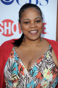Tonye Patano at the CW & Showtime's 2011 TCA Party.