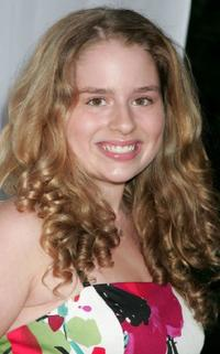 Allie Grant at the CW/CBS/Showtime/CBS Television TCA party.