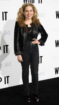 Allie Grant at the premiere of