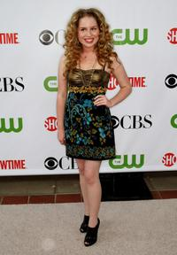 Allie Grant at the CBS, CW, CBS Television Studio and Showtime TCA party.