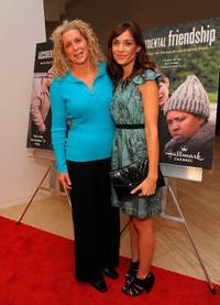 Tami Baumann and Kathleen Munroe at the world premiere screening of